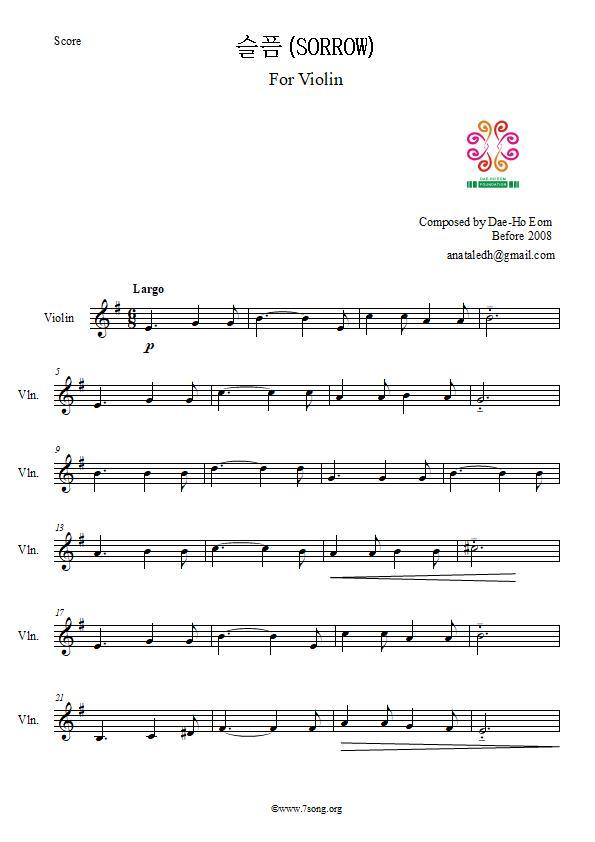 Dae-Ho Eom For Violin Solo_ Sorrow 1.jpg